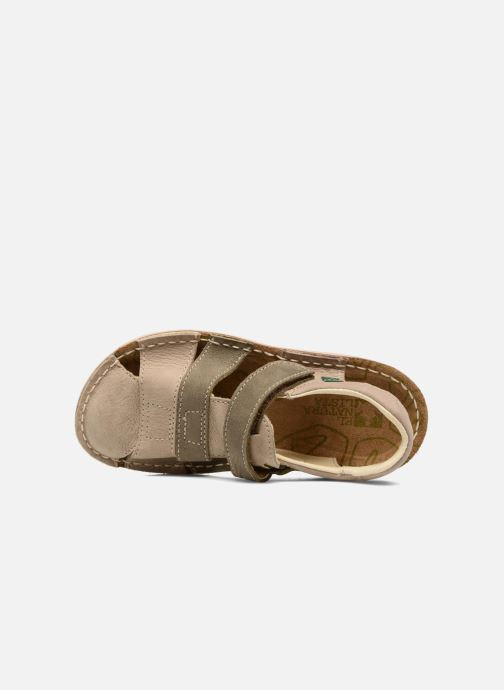 Sandales et nu-pieds El Naturalista Kiri E286 Gris vue gauche