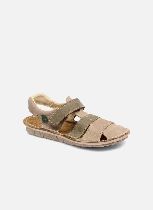 Sandales et nu-pieds El Naturalista Kiri E286 Gris vue détail/paire