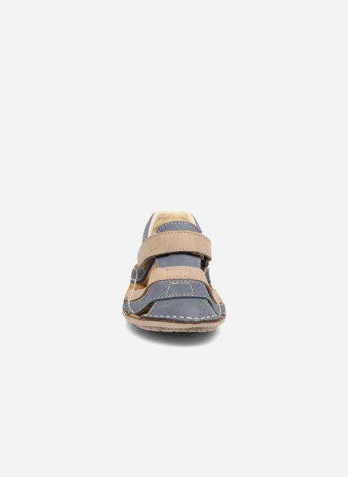 Sandales et nu-pieds El Naturalista Kiri E286 Bleu vue portées chaussures