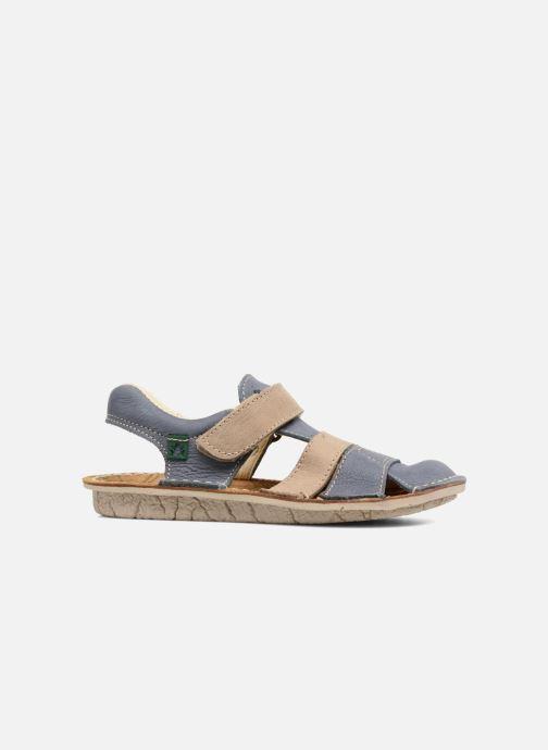 Sandales et nu-pieds El Naturalista Kiri E286 Bleu vue derrière