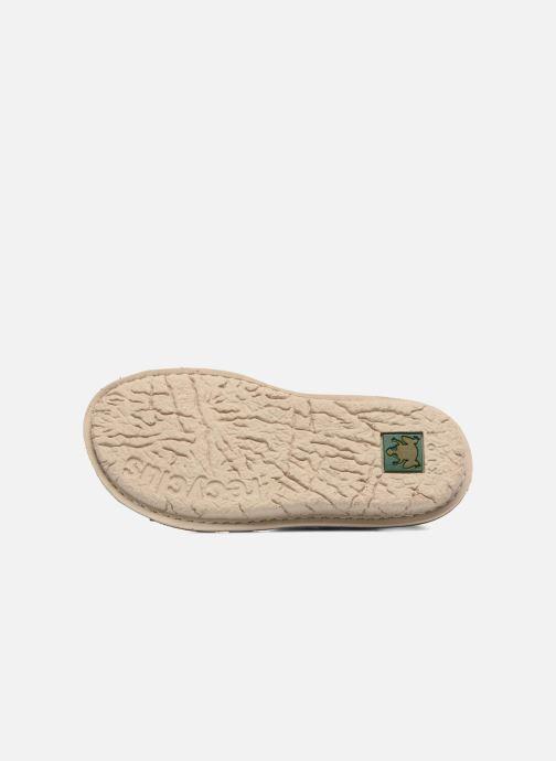 Sandales et nu-pieds El Naturalista Kiri E286 Bleu vue haut