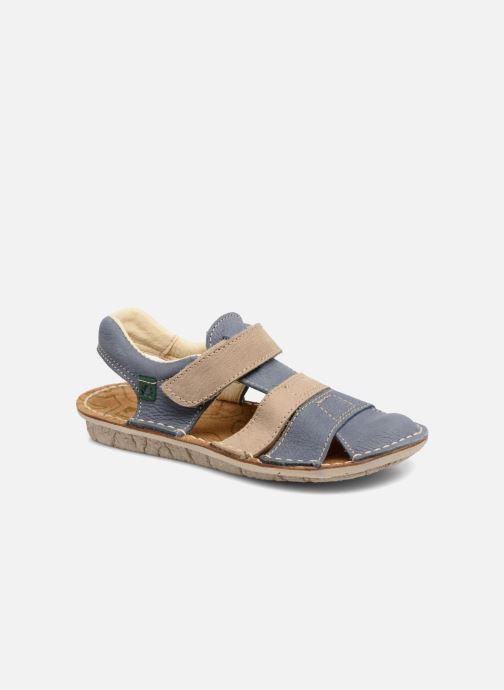 Sandales et nu-pieds El Naturalista Kiri E286 Bleu vue détail/paire