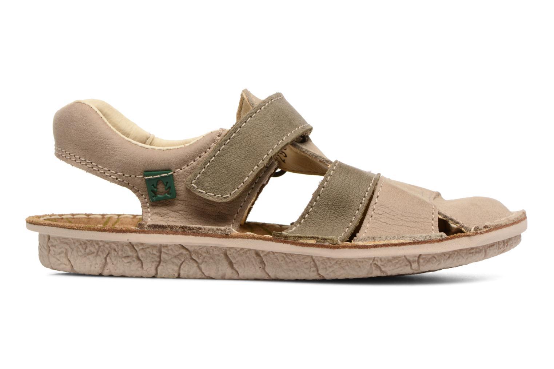 Sandales et nu-pieds El Naturalista Kiri E286 Gris vue derrière