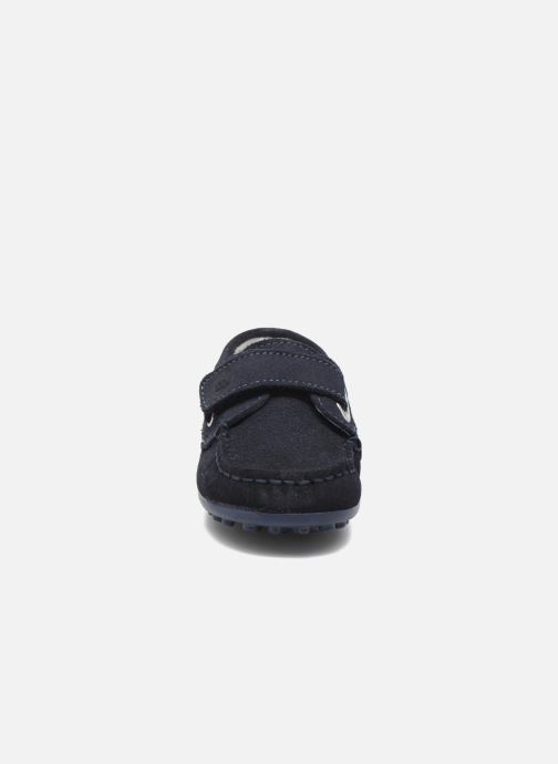 Chaussures à scratch Melania Danielo Bleu vue portées chaussures