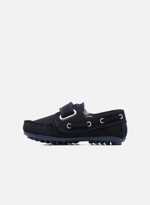 Chaussures à scratch Melania Danielo Bleu vue face