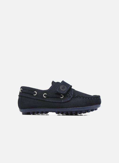 Chaussures à scratch Melania Danielo Bleu vue derrière