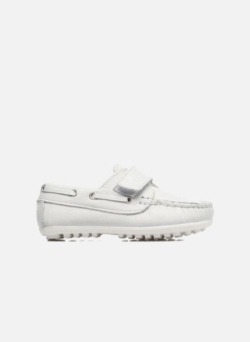 Chaussures à scratch Melania Danielo Blanc vue derrière