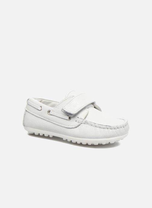 Chaussures à scratch Melania Danielo Blanc vue détail/paire