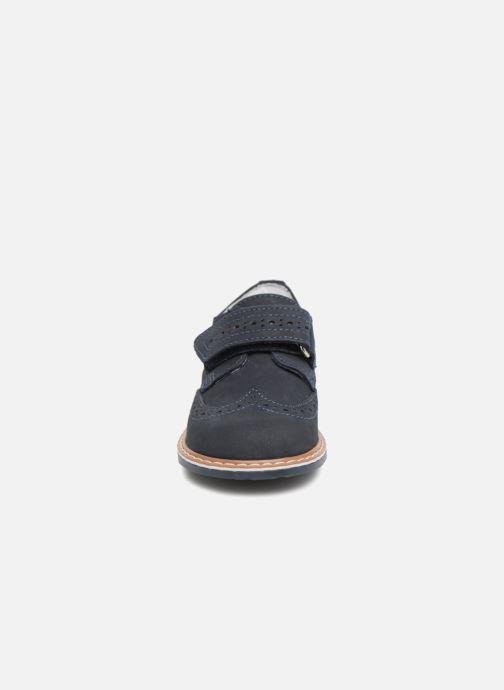 Zapatos con velcro Melania Diego Azul vista del modelo
