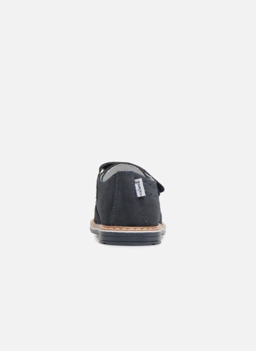 Chaussures à scratch Melania Diego Bleu vue droite