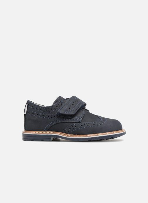Zapatos con velcro Melania Diego Azul vistra trasera