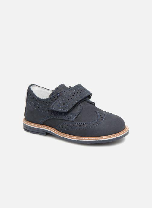 Zapatos con velcro Melania Diego Azul vista de detalle / par