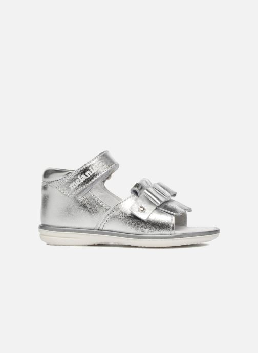 Sandals Melania Emma Silver back view