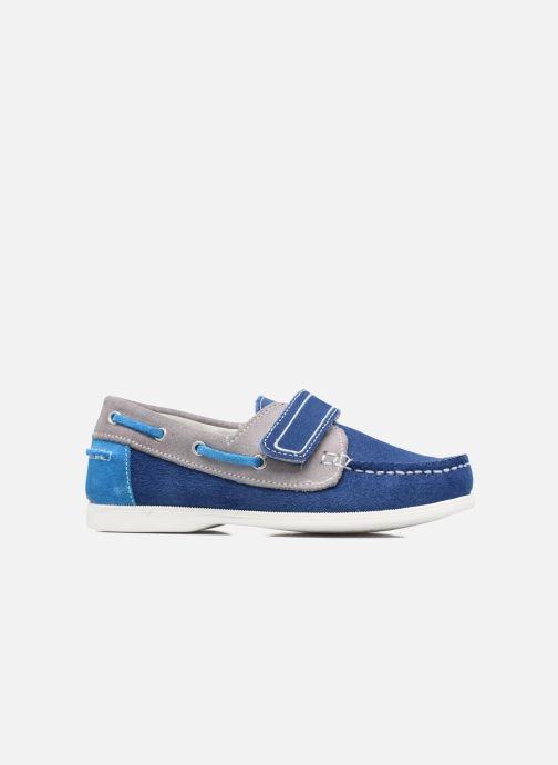 Chaussures à scratch Melania Folco Bleu vue derrière