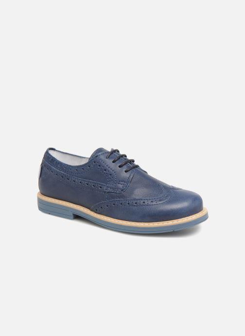 Chaussures à lacets Melania Marcello Bleu vue détail/paire