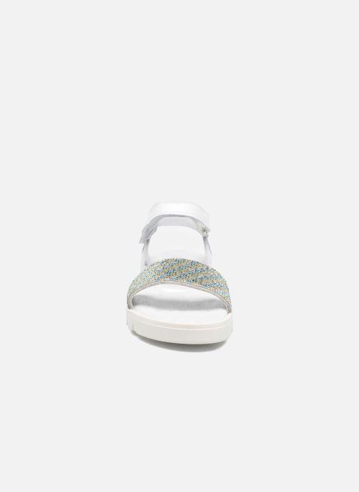 Sandalen Melania Maia weiß schuhe getragen