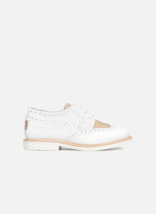 Chaussures à lacets Melania Palma Blanc vue derrière