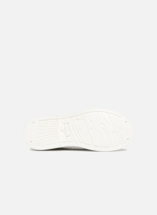 Chaussures à lacets Melania Palma Blanc vue haut