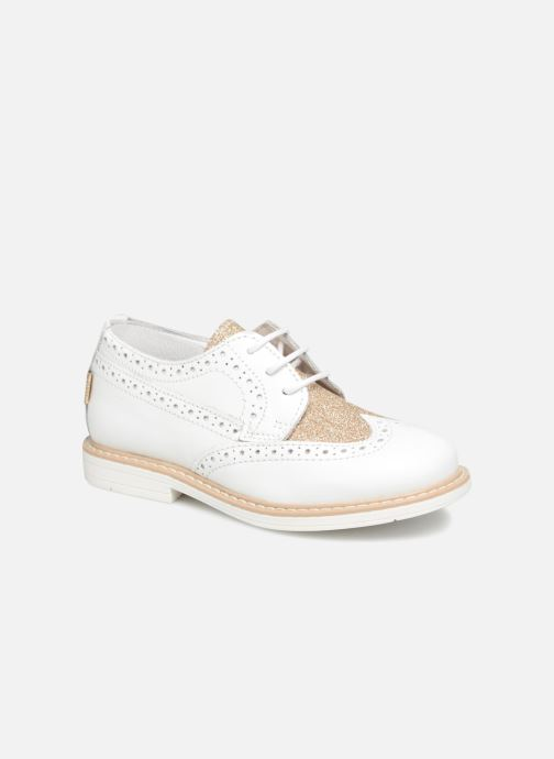 Chaussures à lacets Melania Palma Blanc vue détail/paire