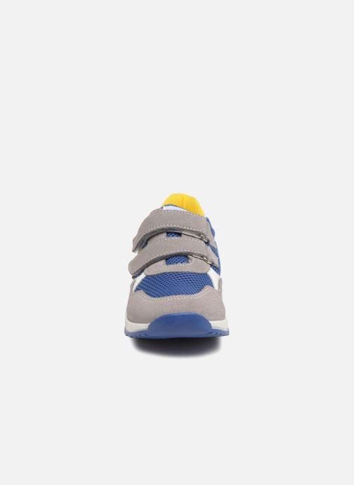 Baskets Melania Ruben Gris vue portées chaussures