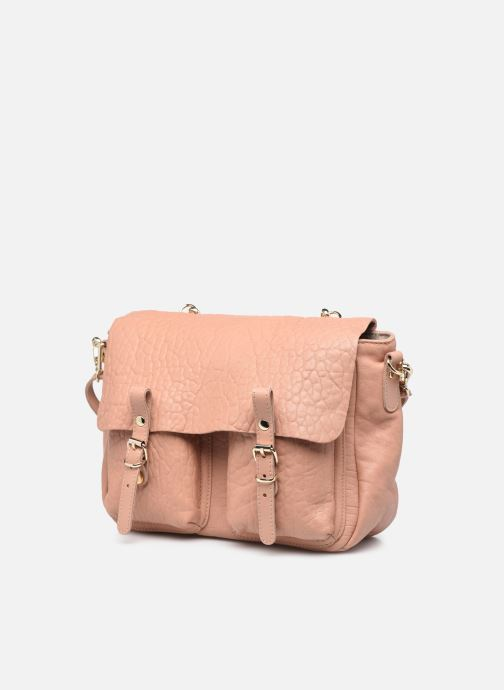 Handtaschen Craie Mini Maths Bubble beige schuhe getragen