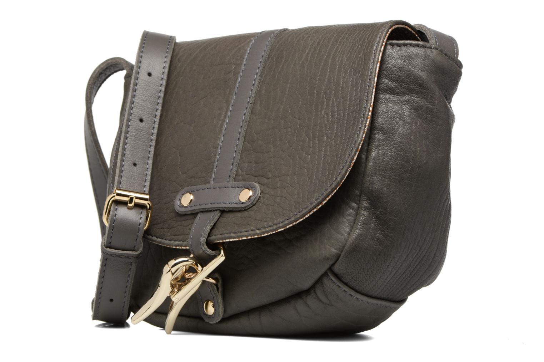 Handtaschen Craie Thèse Bubble grau schuhe getragen