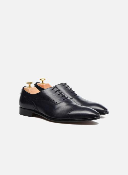 Zapatos con cordones Marvin&Co Luxe Dartford - Cousu Blake Azul vista 3/4