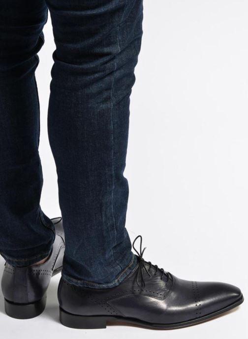 Zapatos con cordones Marvin&Co Luxe Dartford - Cousu Blake Azul vista de abajo