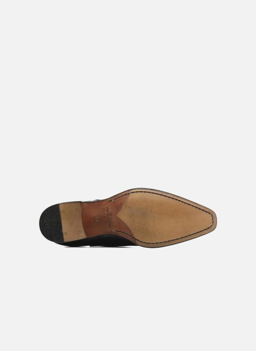 Zapatos con cordones Marvin&Co Luxe Dartford - Cousu Blake Azul vista de arriba