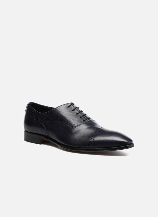 Zapatos con cordones Marvin&Co Luxe Dartford - Cousu Blake Azul vista de detalle / par