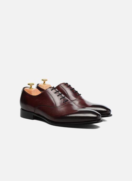 Zapatos con cordones Marvin&Co Luxe Dagenham - Cousu Blake Vino vista 3/4