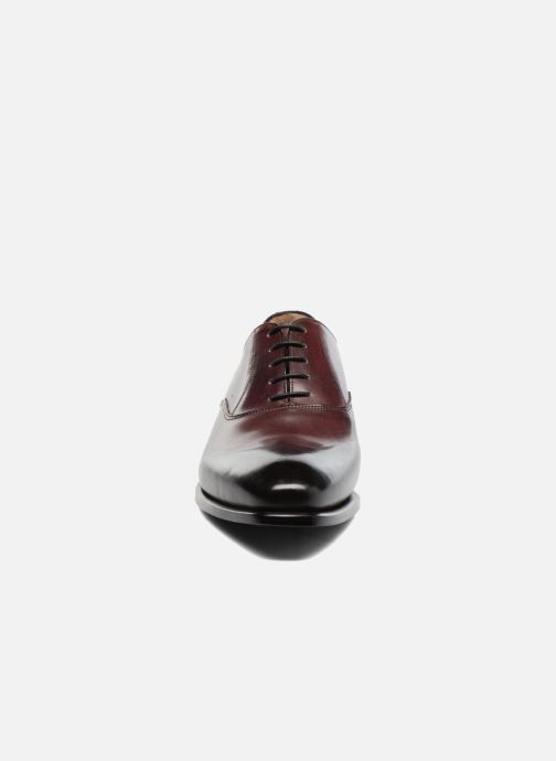 Zapatos con cordones Marvin&Co Luxe Dagenham - Cousu Blake Vino vista del modelo