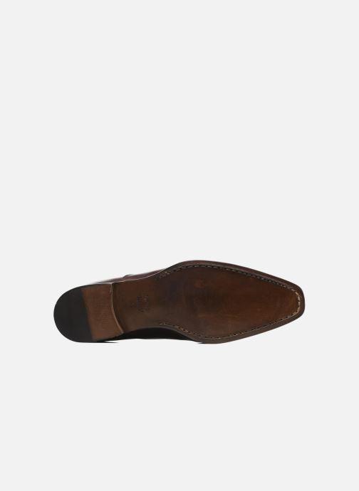 Zapatos con cordones Marvin&Co Luxe Dagenham - Cousu Blake Vino vista de arriba