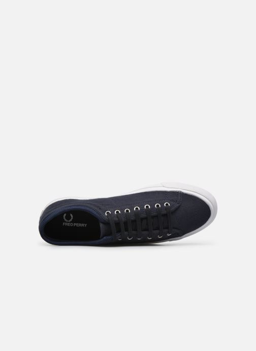 Sneakers Fred Perry Kendrick Jersey Blauw links