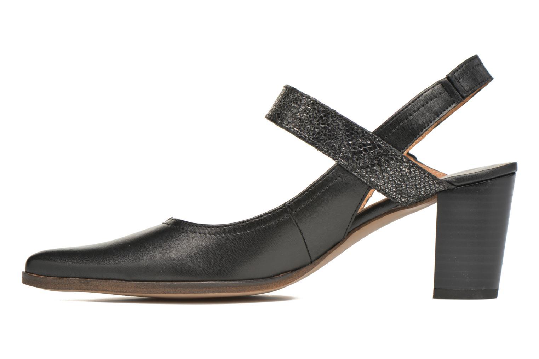 Zapatos de tacón Karston Kzoupi Negro vista de frente