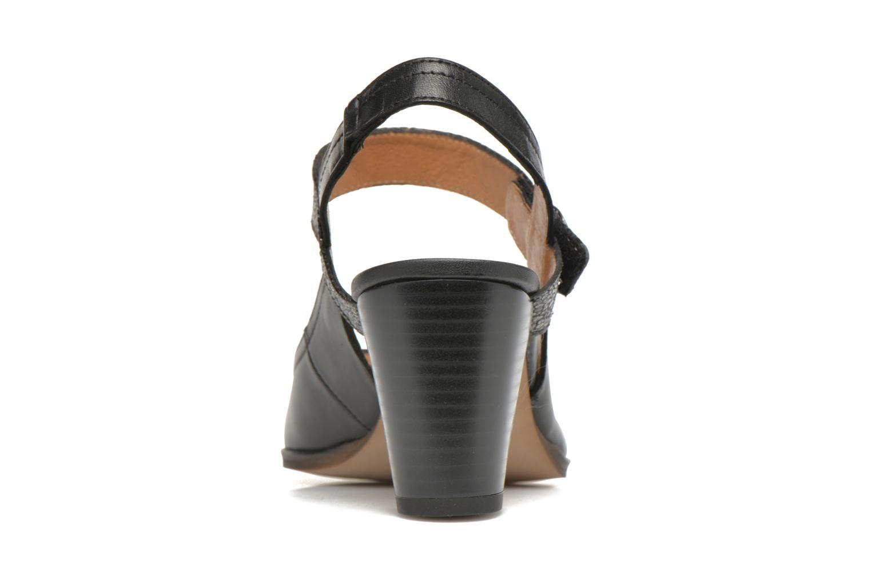 Zapatos de tacón Karston Kzoupi Negro vista lateral derecha