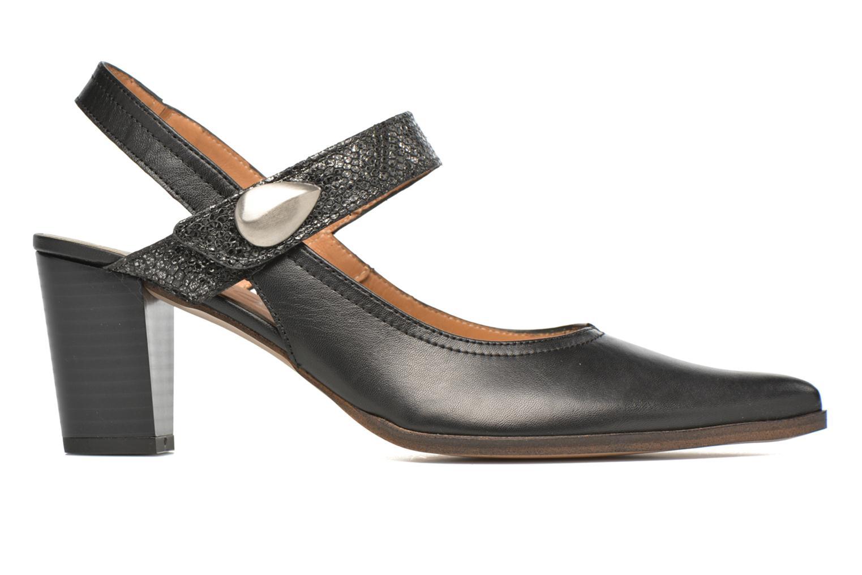 Zapatos de tacón Karston Kzoupi Negro vistra trasera