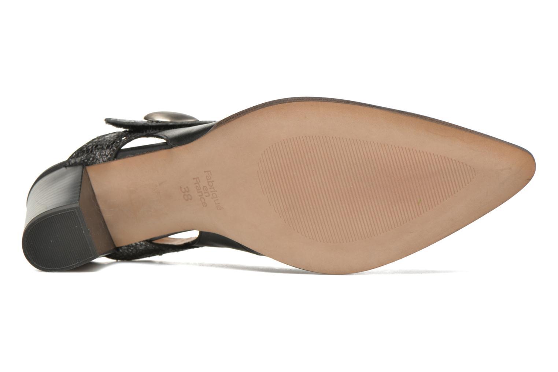 Zapatos de tacón Karston Kzoupi Negro vista de arriba