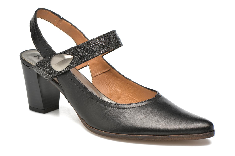 Høje hæle Karston Kzoupi Sort detaljeret billede af skoene