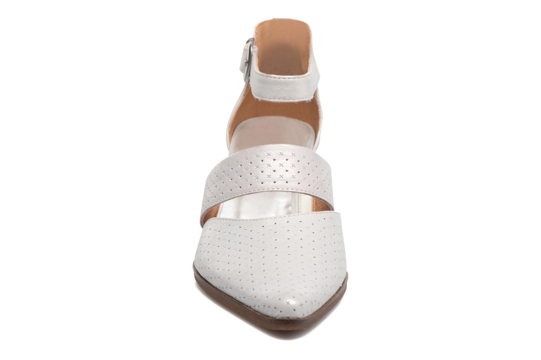 Zapatos de tacón Karston Kzetou Plateado vista del modelo