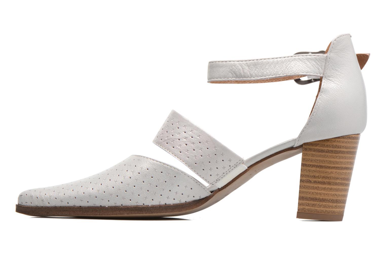 Zapatos de tacón Karston Kzetou Plateado vista de frente