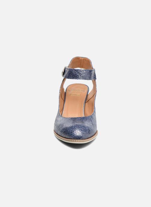 Escarpins Karston Klintif Bleu vue portées chaussures