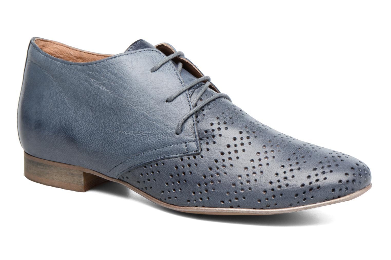 Snøresko Karston Jorzi Blå detaljeret billede af skoene