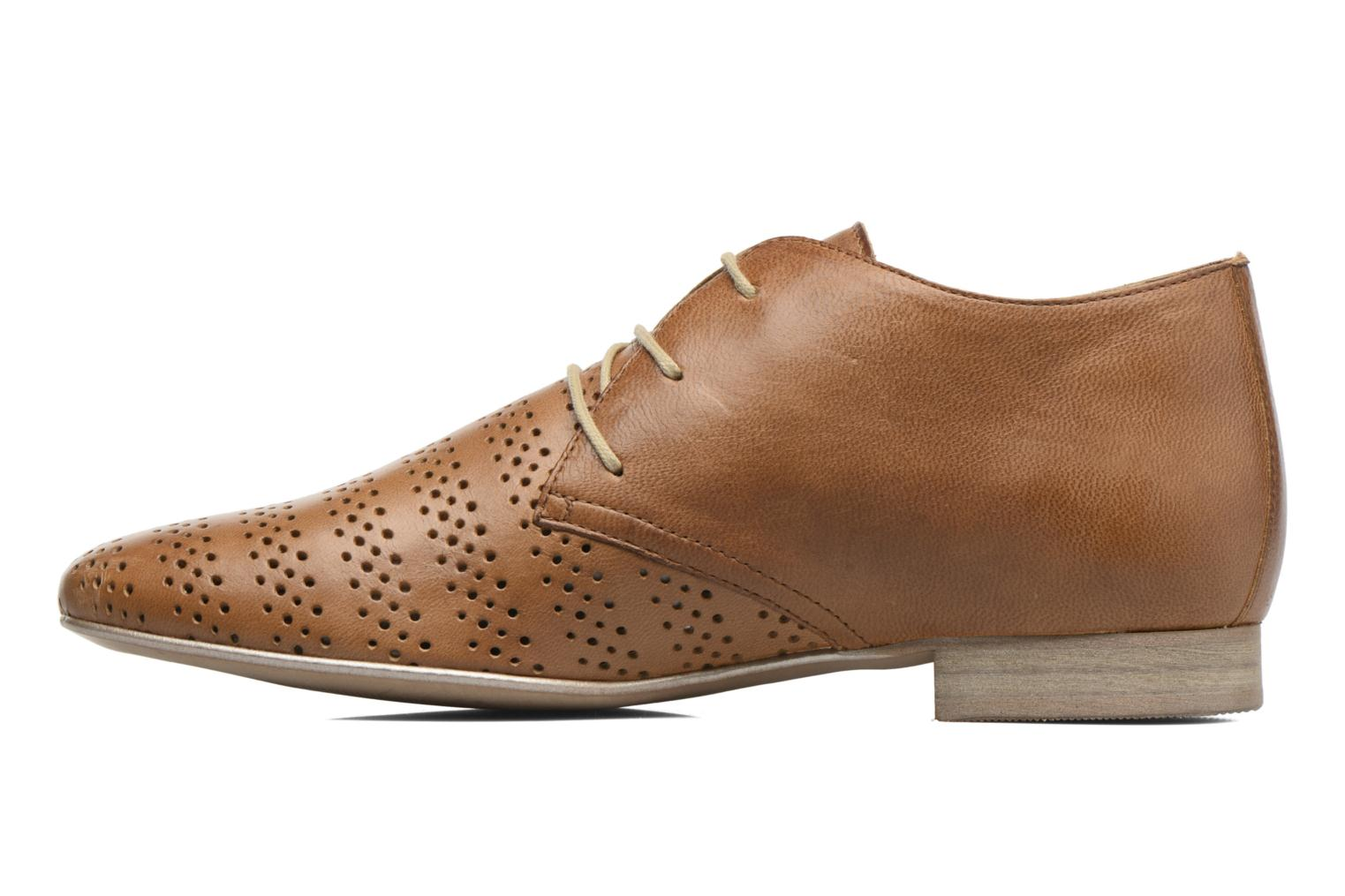 Lace-up shoes Karston Jorzi Brown front view