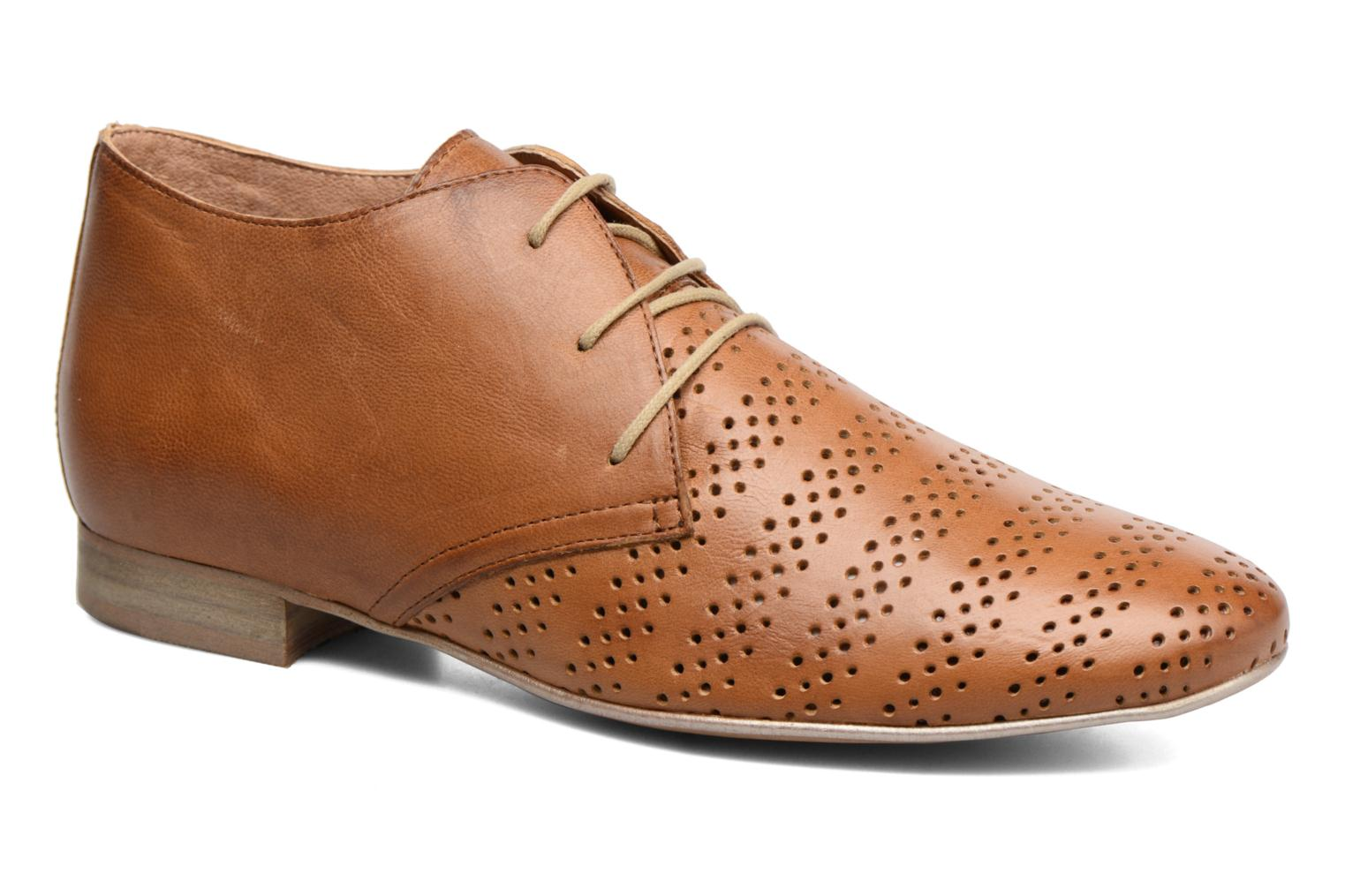 Lace-up shoes Karston Jorzi Brown detailed view/ Pair view