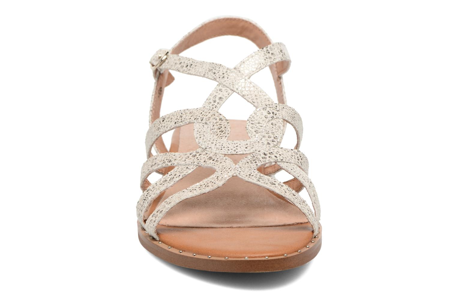 Sandals Karston Soby Beige model view