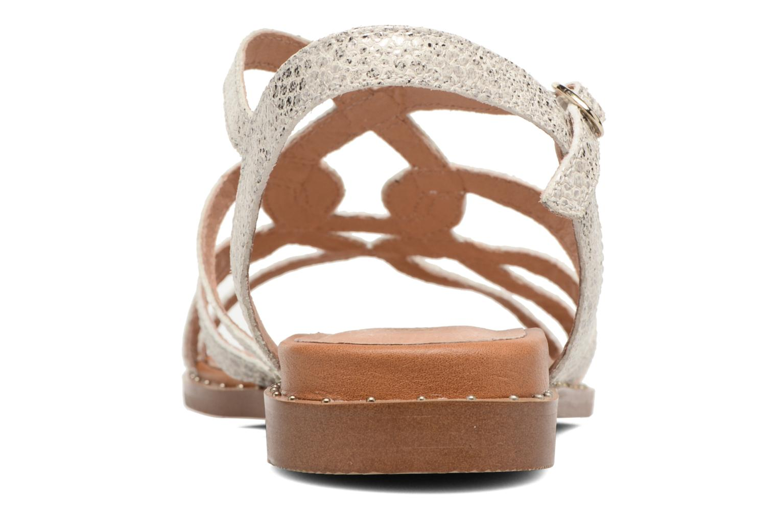 Sandals Karston Soby Beige view from the right