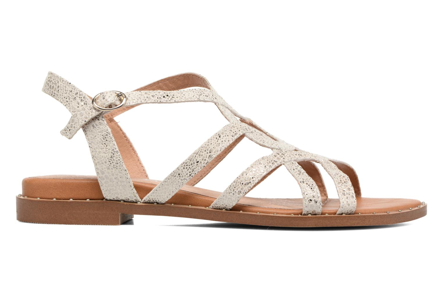 Sandals Karston Soby Beige back view