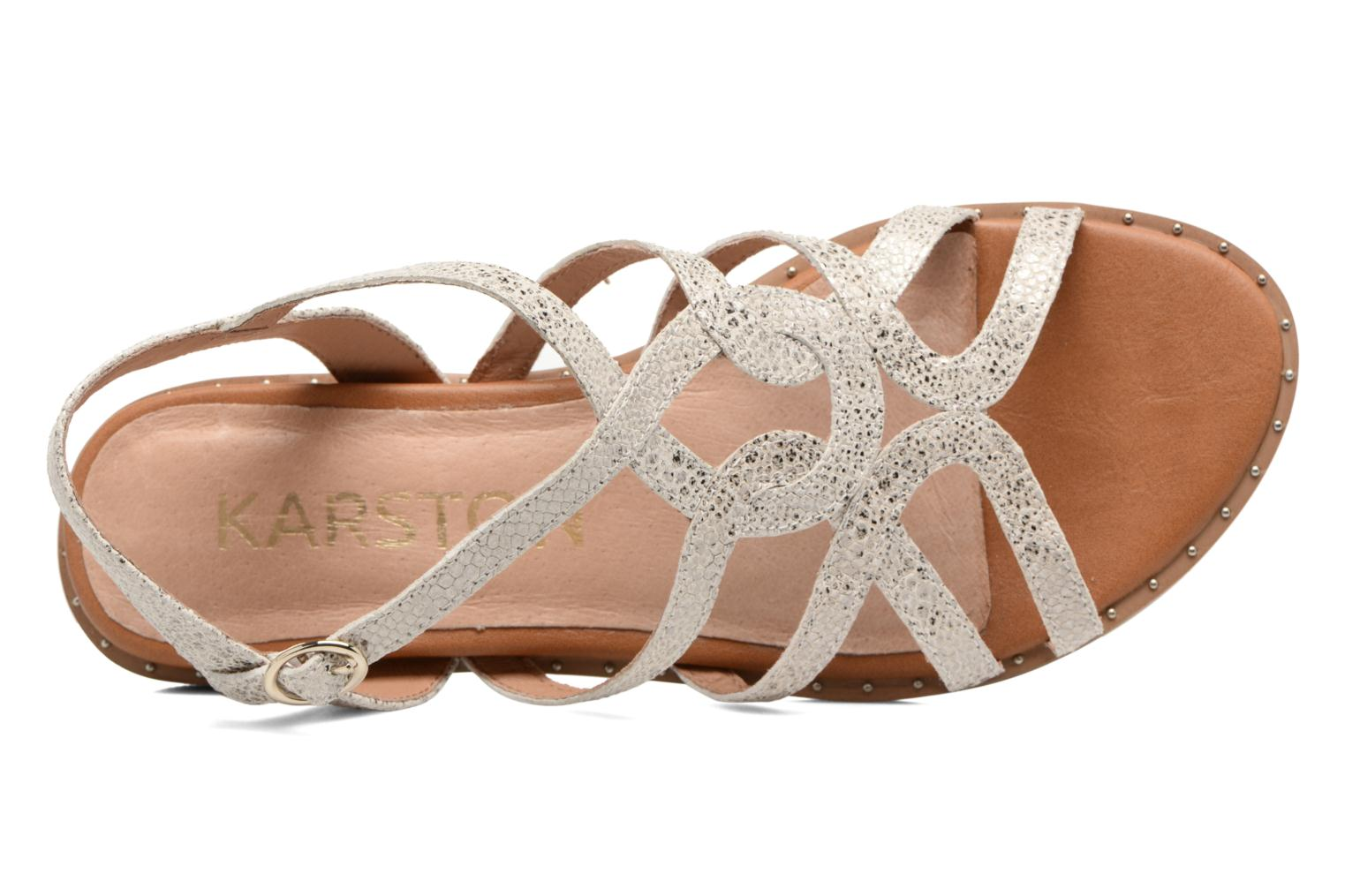 Sandals Karston Soby Beige view from the left