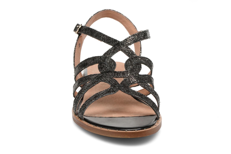 Sandalen Karston Soby schwarz schuhe getragen